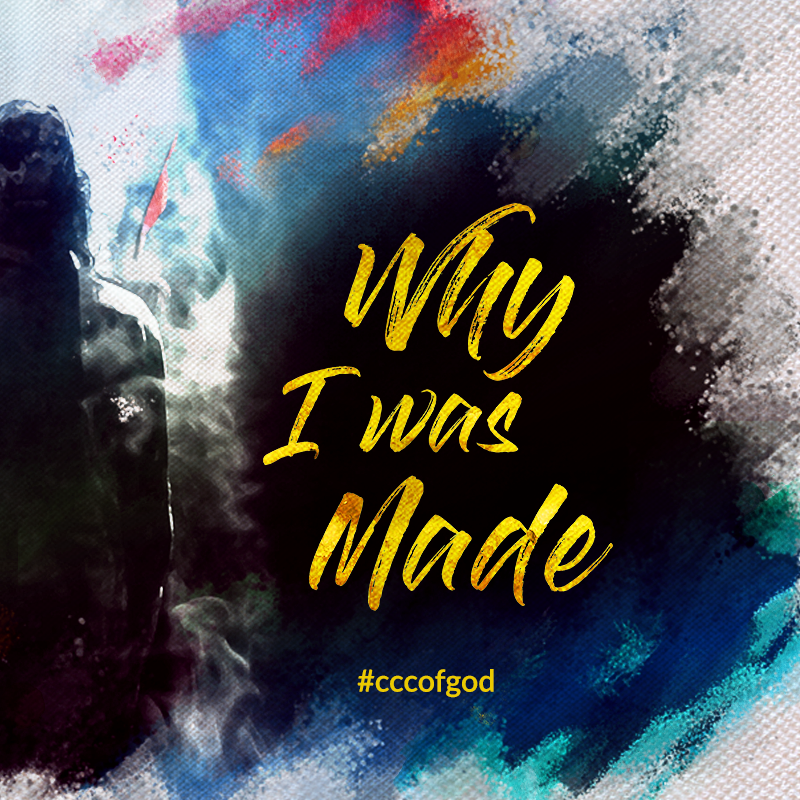 April Series: Why I Was Made    04/15/2018 - Destiny    04/08/2018 - You and I were made on purpose for a purpose    04/01/2018 - Easter Sunday - Why I Was Made
