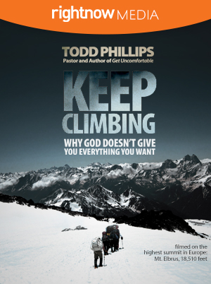 Keep Climbing; Todd Phillips
