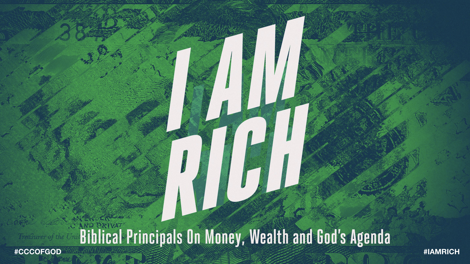 November Series: I Am Rich    11/25/2018 - How To Be Rich    11/11/2018 - Who Is Your Master?    11/04/2018 - We Have More Than What We Think