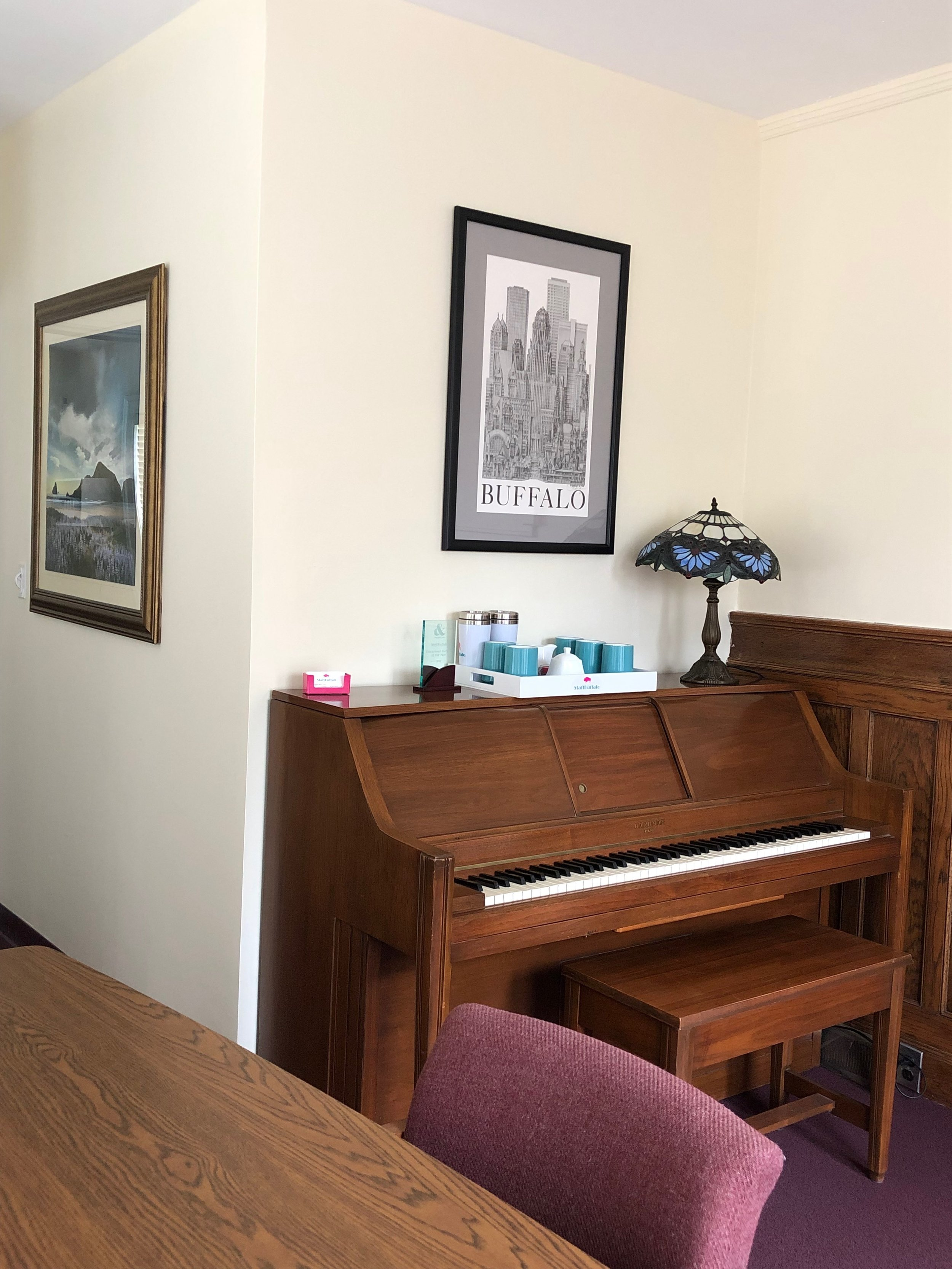 Piano and Local Art
