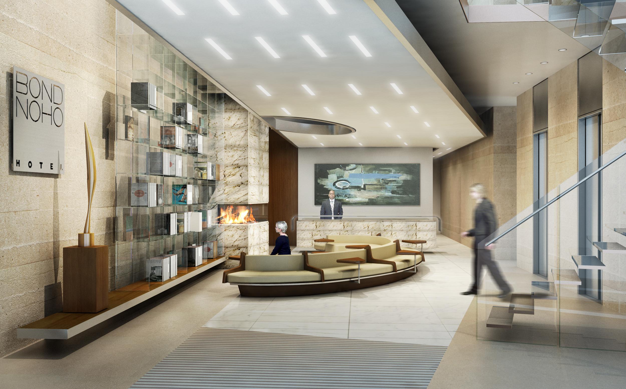 Bond NoHo Hotel, Lobby