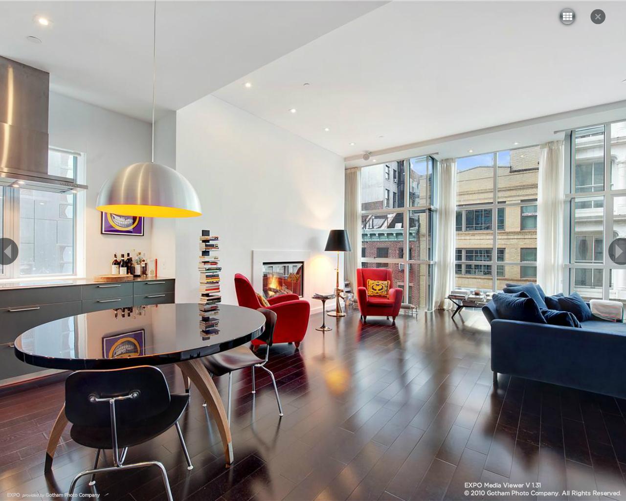 44 Mercer, Soho, Full-View Greatroom