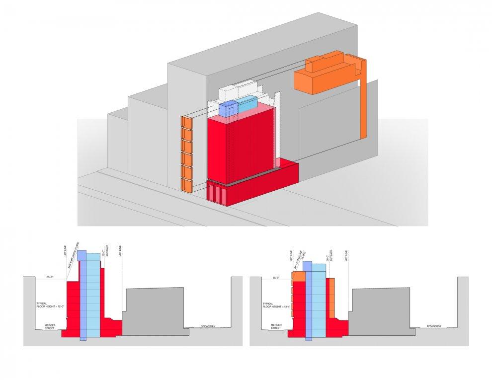 44 Mercer, Soho, Building Plan