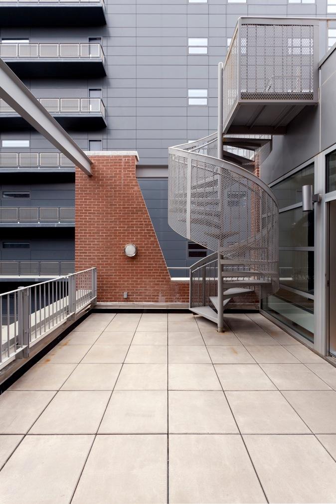 44 Mercer, Soho, Roof Level Staircase