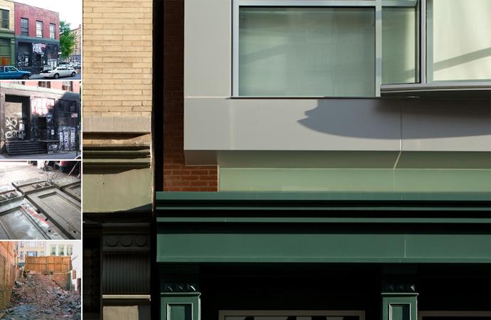 44 Mercer, Soho, Rear Window Design