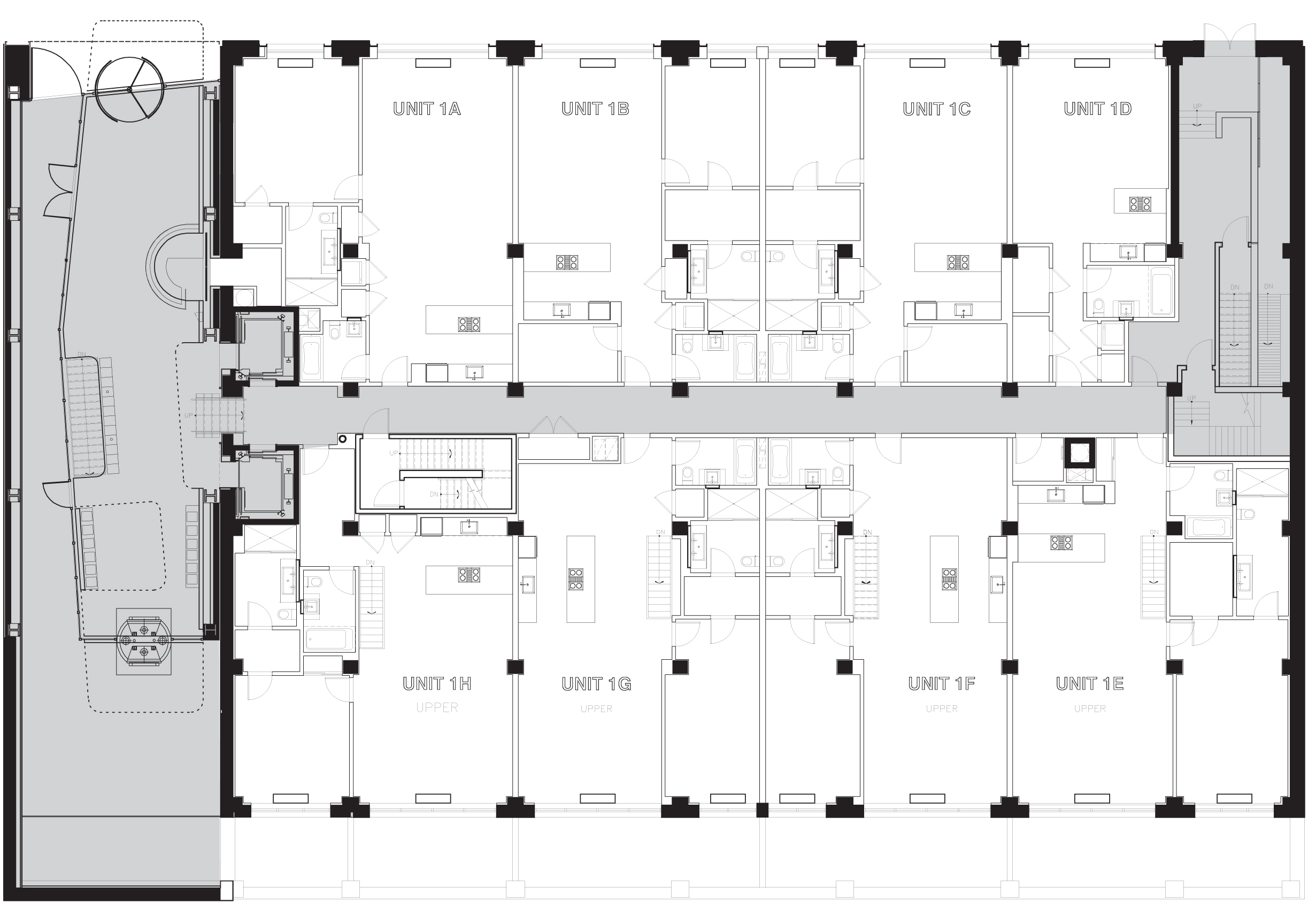 418 West 25th Street, Floor Layout