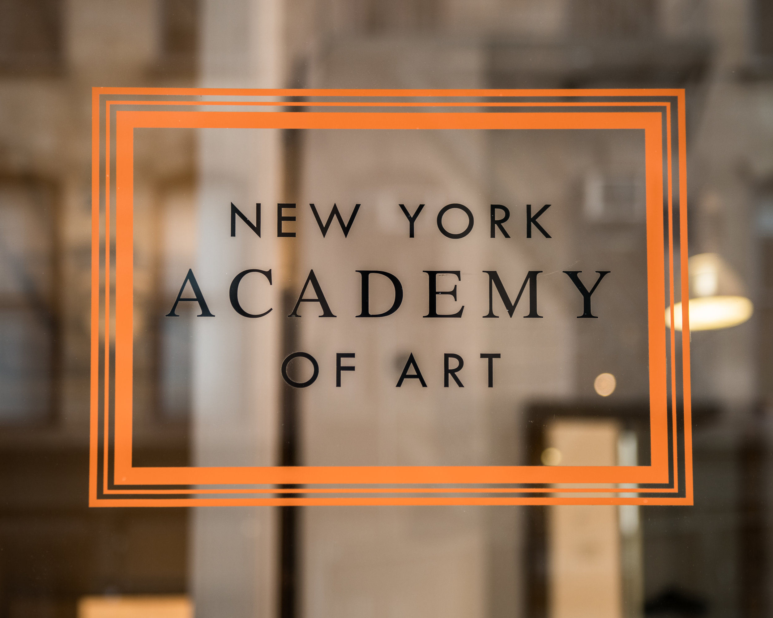 Exterior view of the New York Academy of Art at 111 Franklin street in New York, NY on July 12, 2019.