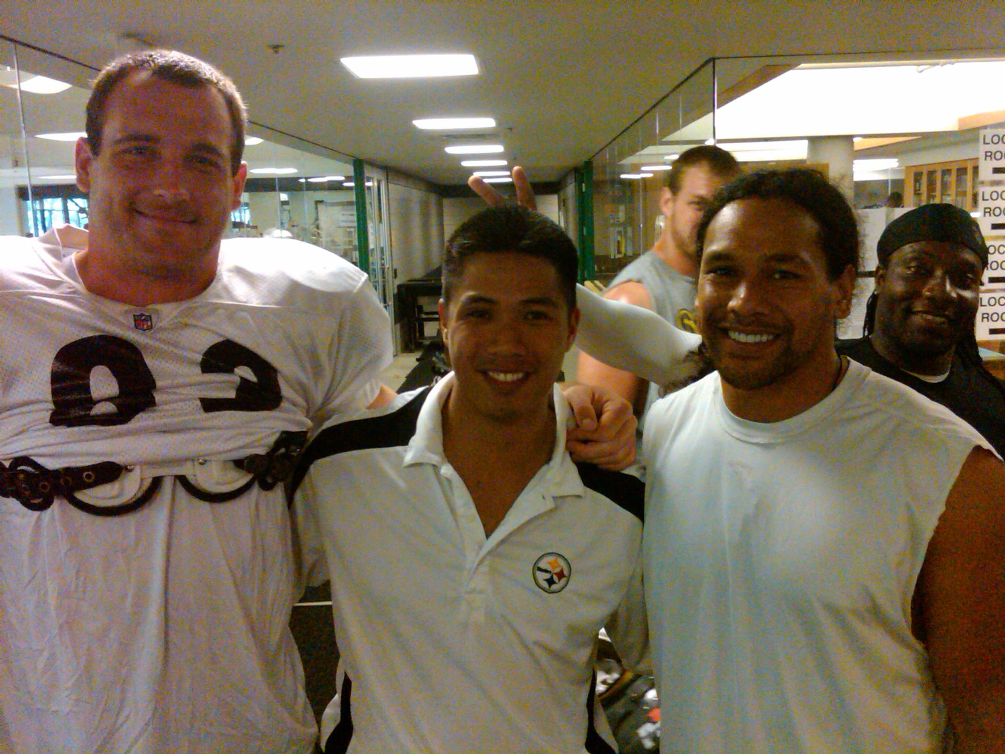 Heath Miller & Troy Polamalu (Pittsburgh Steelers)