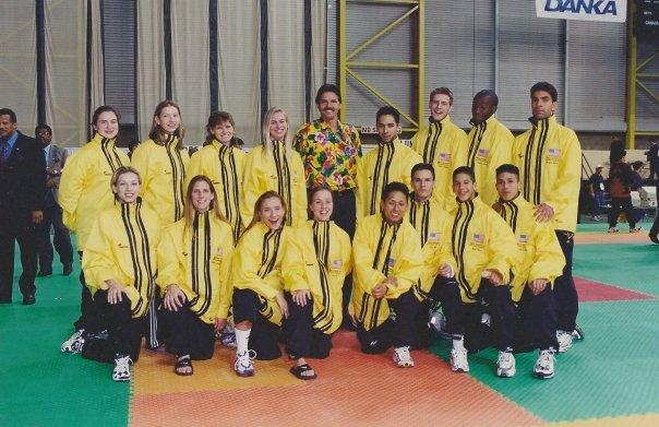 My first World Championships: 1999 (Edmonton, Canada)