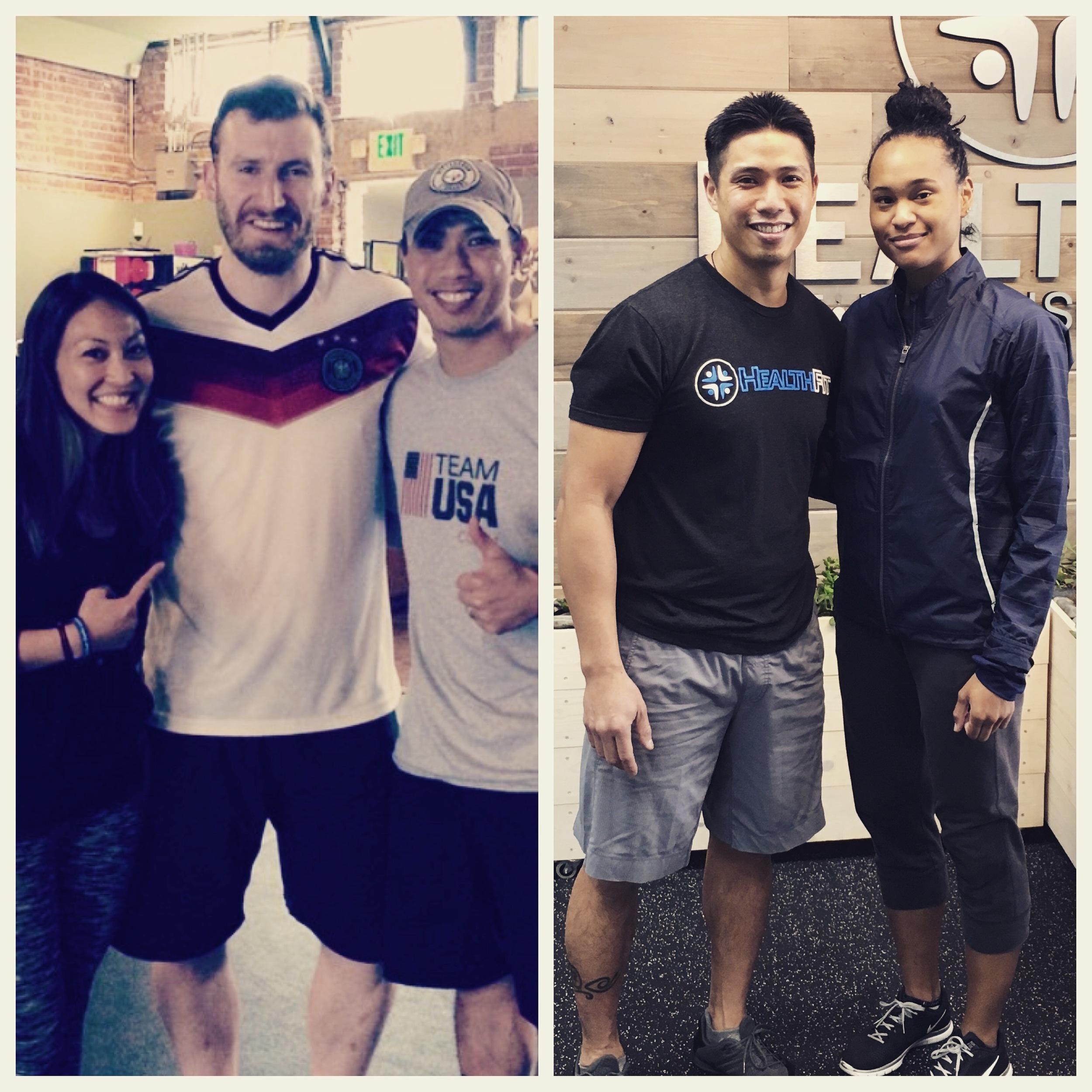 Stephen Lambdin & Paige McPherson (2016 Olympians - Taekwondo))