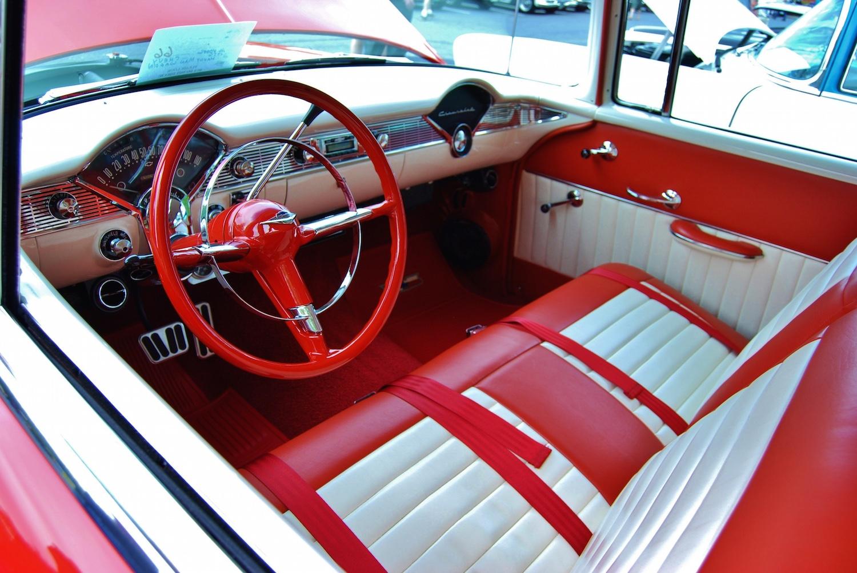 classic car seat