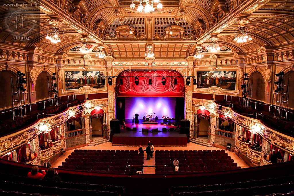 Over 100 years old, the Royal Hall was re-opened by Prince Charles in 2008 following an eight million pound restoration.