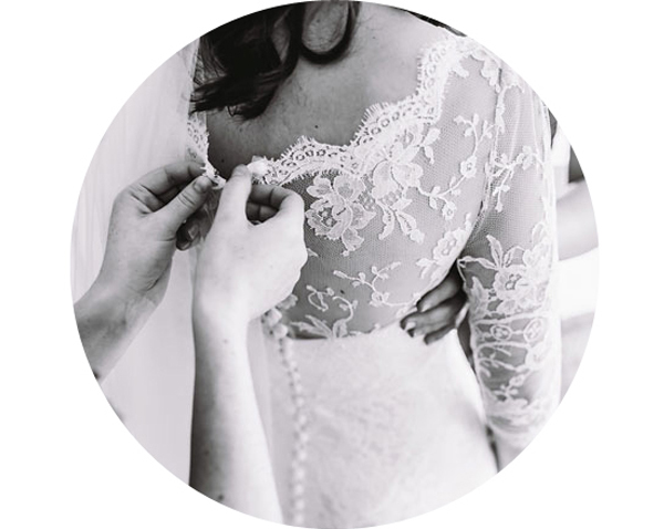 Fittings & alterations - We understand the importance of a perfect fit and we love to customise dresses to each individual.