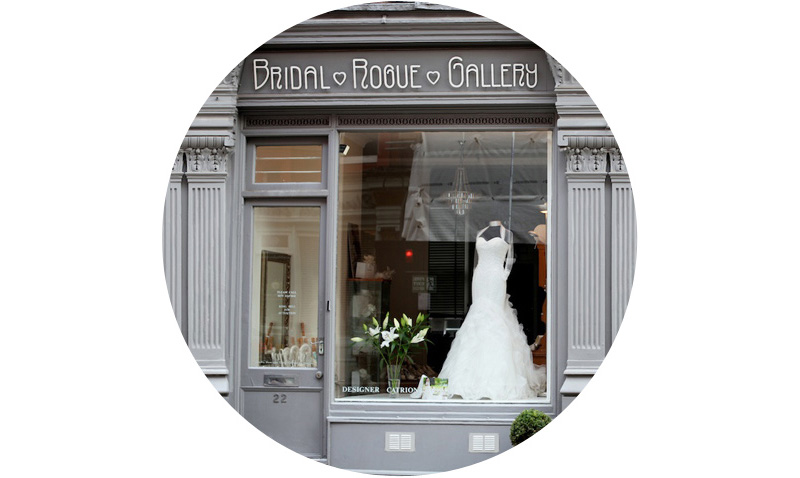 London - Our London wedding dress shop was the first of our three bridal boutiques and has been open for over 25 years! Located in central London on Marylebone's iconic red bricked Chiltern Street.