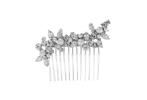 Combs & Pins - Dazzling combinations of crystals and pearls, a perfect addition to any bridal up-do.
