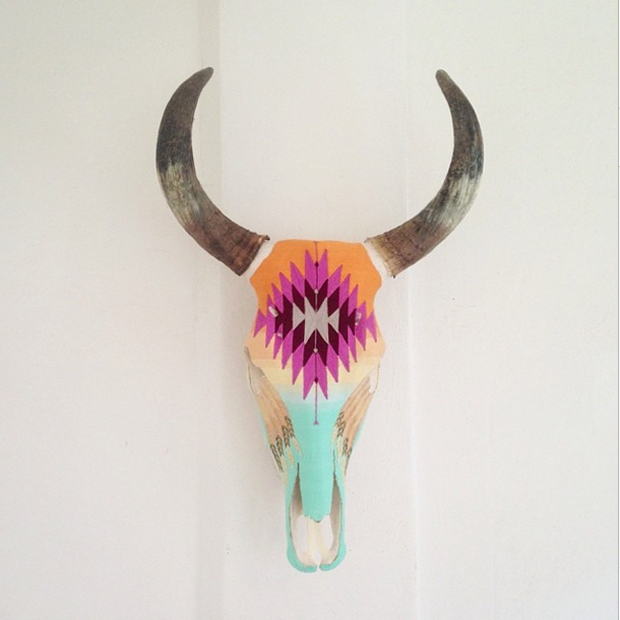 Brittney Borjeson has 2 locations in Sayulita. Evoke is across the street from Petit Hotel Hafa on Calle Jose Mariscal. Spirit is next to Wakika Ice Cream on Calle Marlín. Check out the breathtaking Huichol yarn-covered cow skulls.