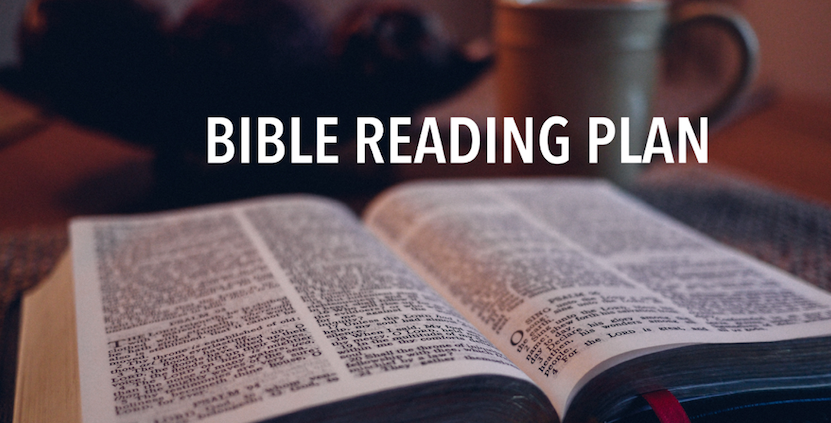 Join us this year in reading God's Word which is a lamp to our feet and a light to our path. (Ps 119:105) We have a plan we'll be following as a church in 2017. Get your copy of The 2016 Bible Reading any Sunday morning. You can also download a    pdf    to print at home.