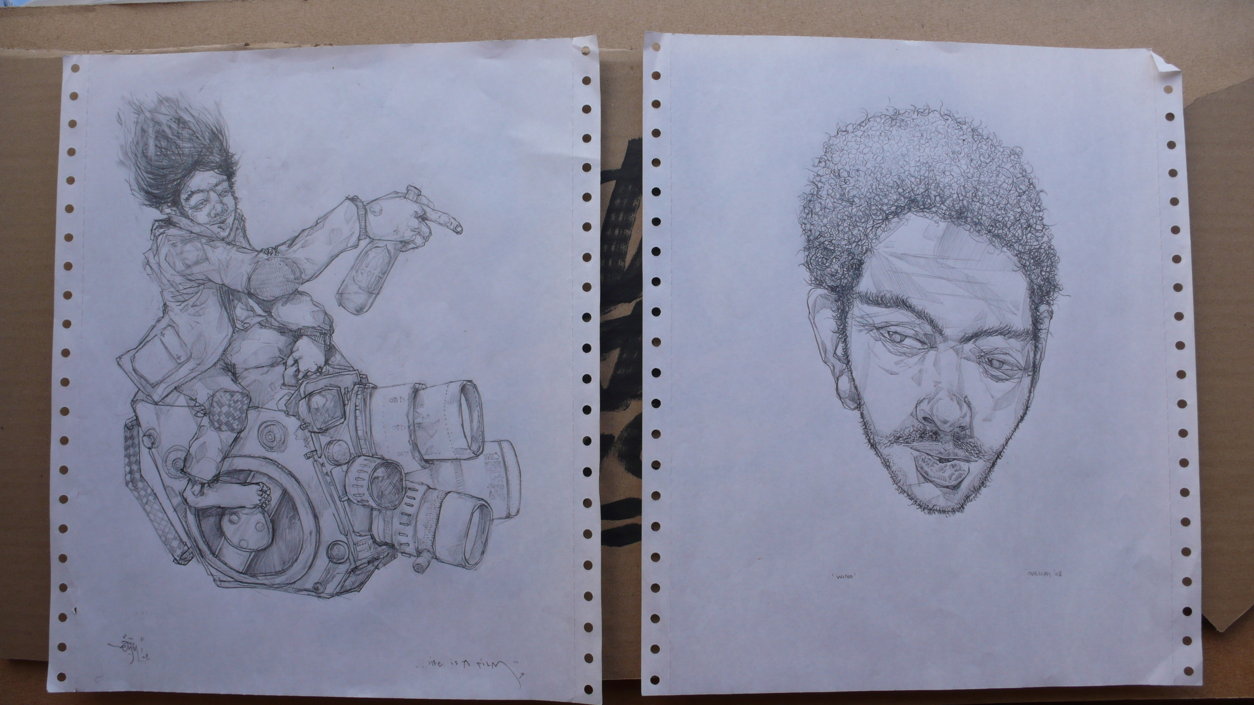 pencil drawings.JPG