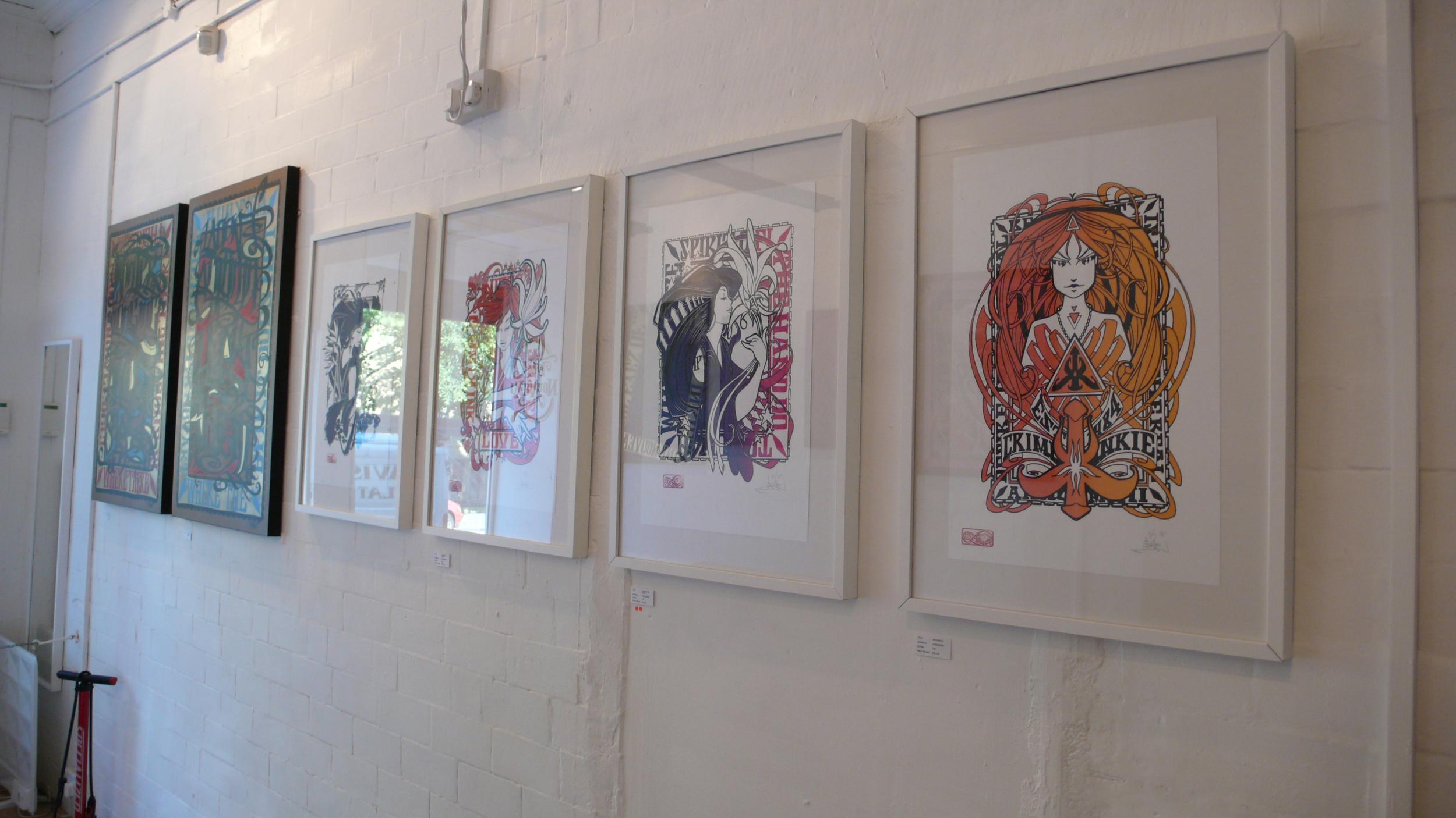 screen prints wall.JPG