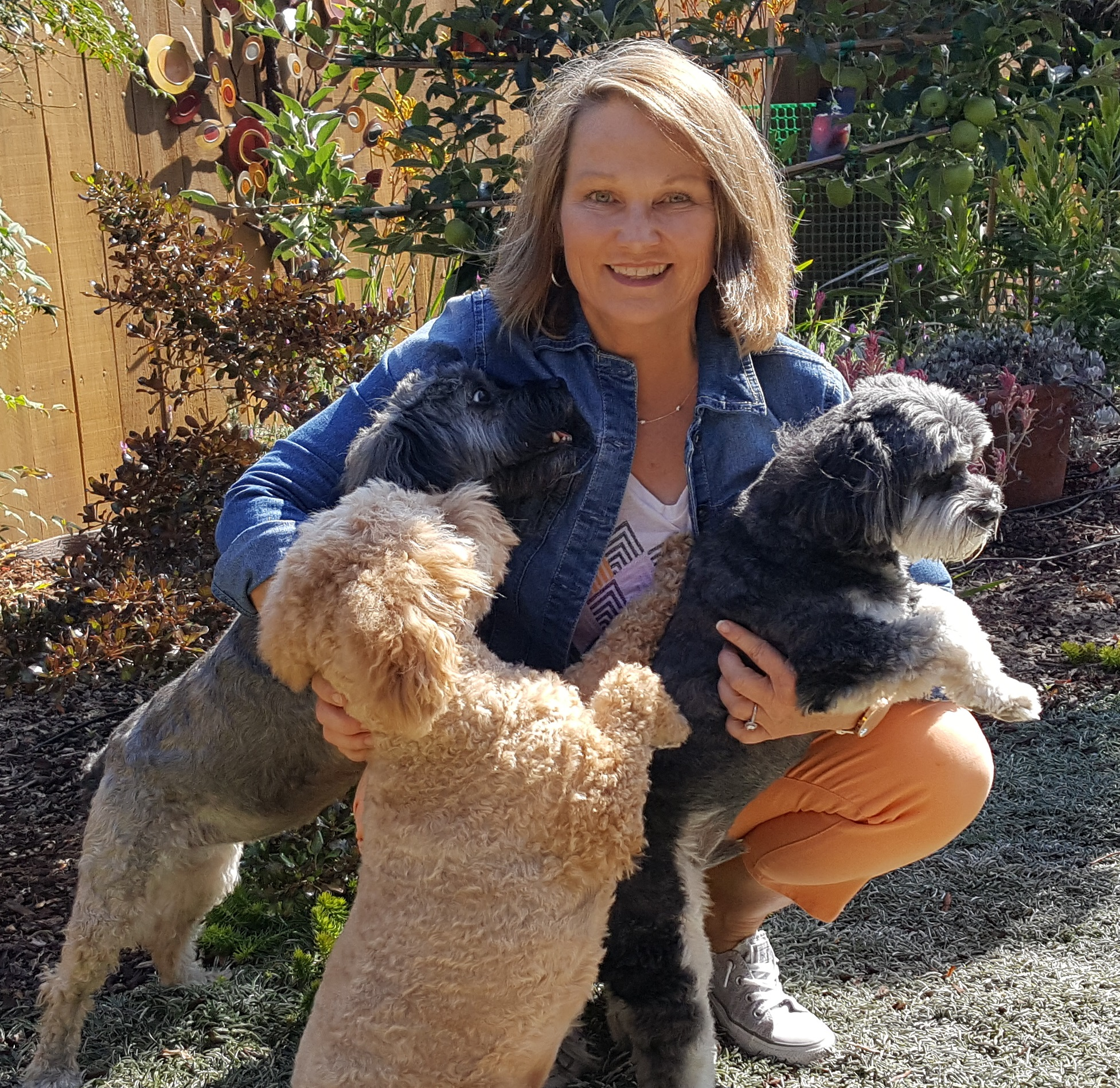 "Barb - Barb Pensky has always had a special connection with dogs since she was a child and has been working professionally with them for over 25 years. She has owned three Pet care businesses which focused on caring for dogs while their owners were away.She also continues to volunteer at the local shelter, teaching dogs good manners so they are more adoptable.Barb is a CPDT-KA certified trainer, helping owners teach their pups good manners and redirecting bad habits. Barb only practices science based, positive reinforcement methods of training. This is a proven and effective technique to help your dog make the right choice, it strengthens your bond and it's FUN!Barb promises to be your ""Chief Dog Advocate"", ensuring your pup has a loving and positive experience at our ""Inn""."