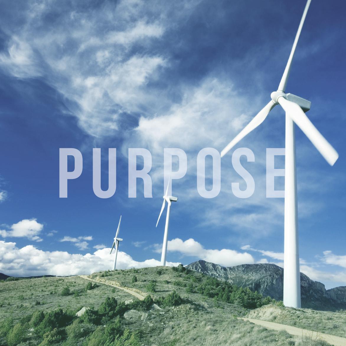 Purpose matters.