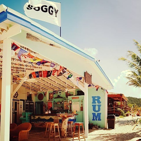 One of our favorite stops when sailing on Cool Change in the BVI! @soggydollarbar #yachtlife #sailing #sailinglife #yacht #lagoon450 #bvi #bvisailing #britishvirginislands #islands #beaches #ocean #travel #traveling #bareboatcharter