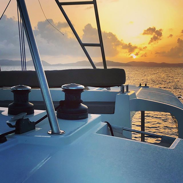 Not all treasure is gold and silver.  #sunsets #sailing #sailinglife #yacht #lagoon450 #bvi #bvisailing #britishvirginislands #ocean #beaches #treasure #luxurylifestyle #bareboatcharter #yachtcharters #bvicharters #coolchangelife