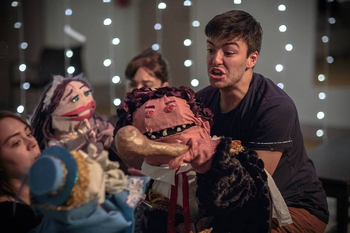 The Billy Club Puppets , directed by JB Douglas at The White Box, 440 Studios