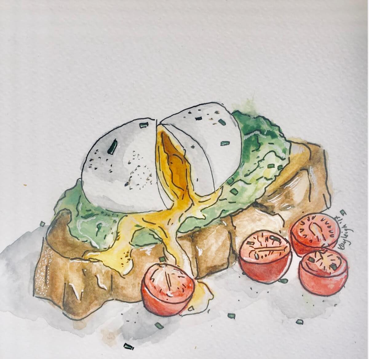 kayleigh mccallum food illustration eggs avocado.jpeg