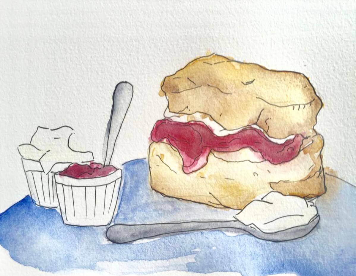 kayleigh mccallum food illustration scone.jpeg