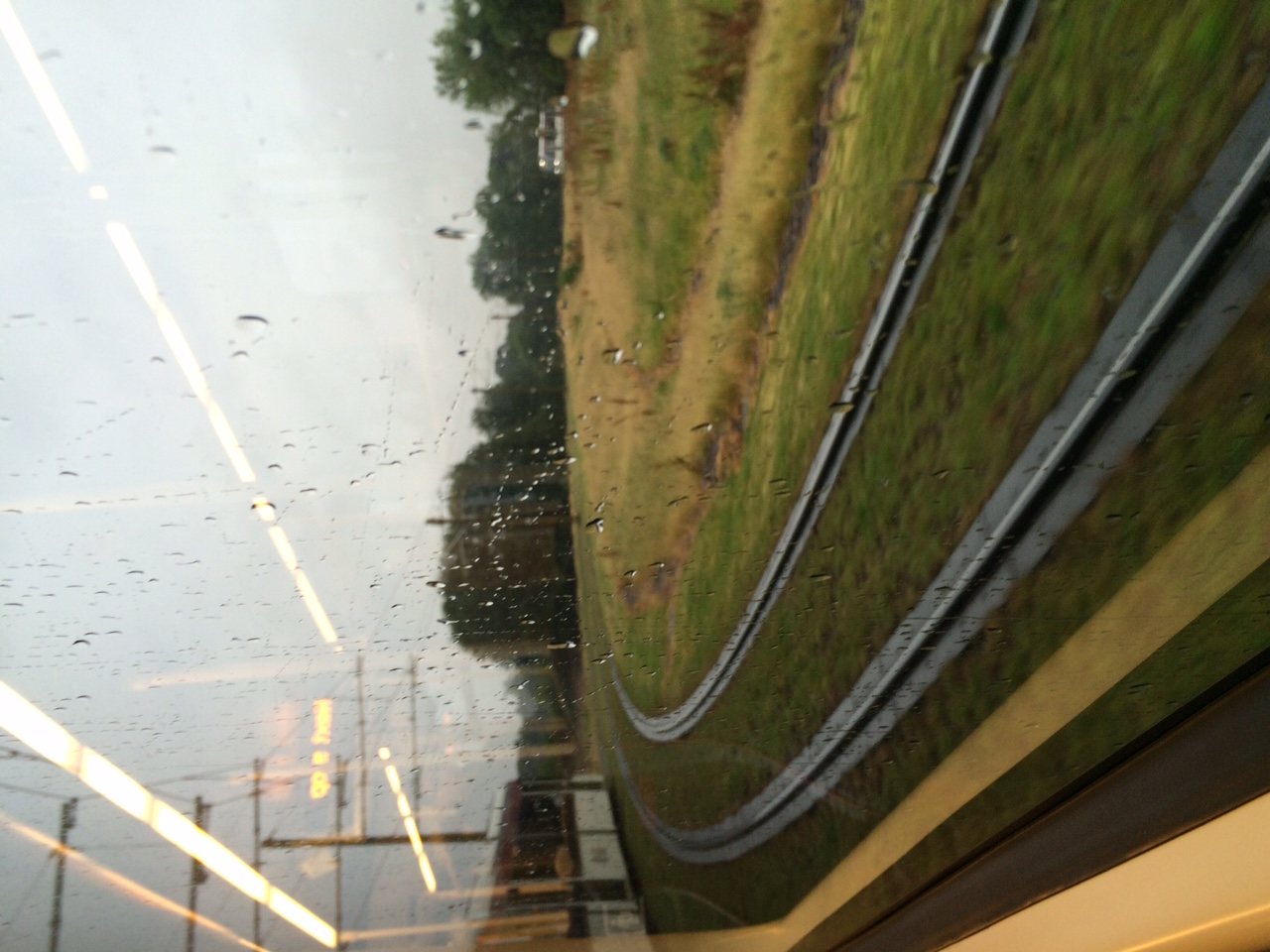 View from the tram