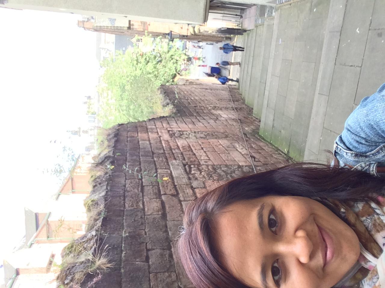 Random selfie wandering around Edinburgh yesterday.