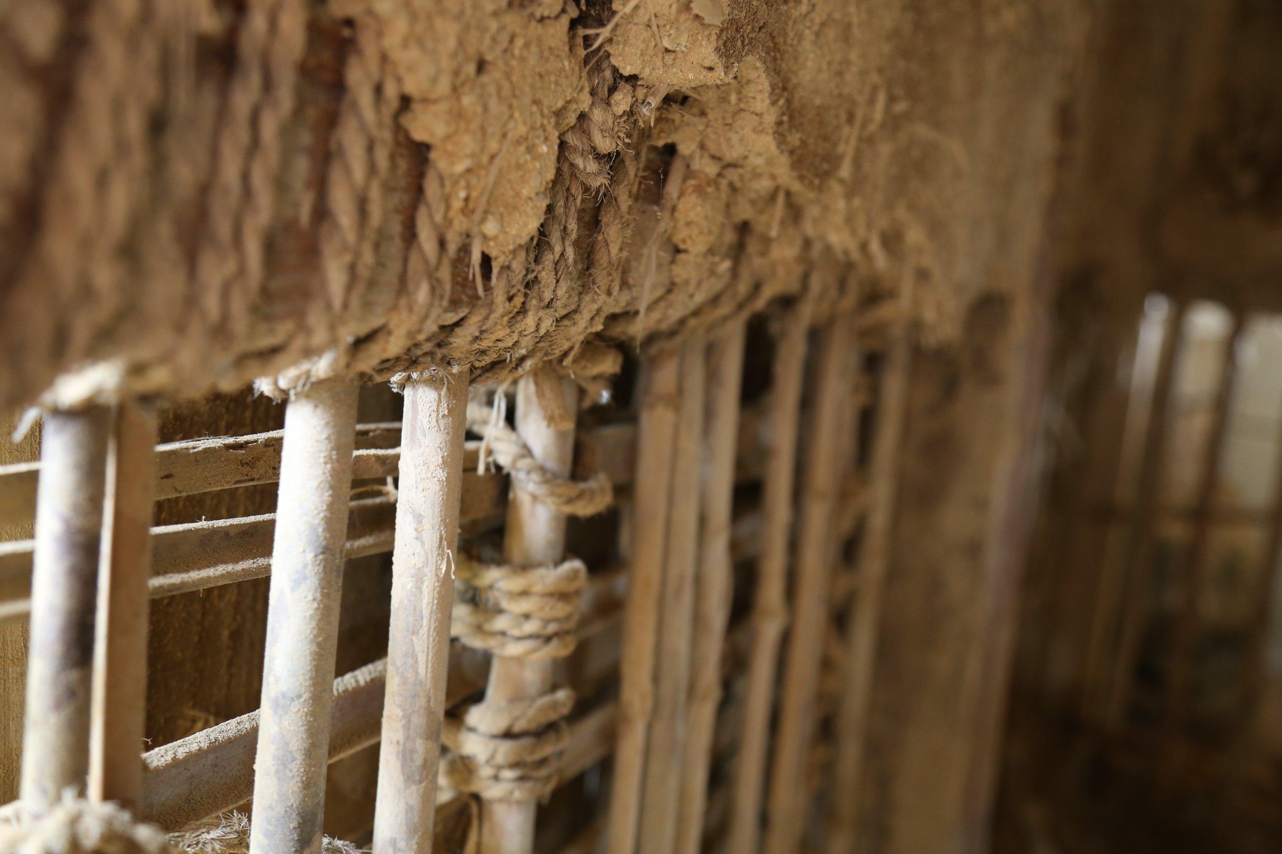 bamboo-soil-wall-japan