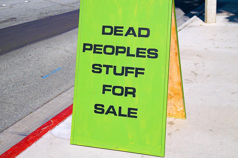 Dead Peoples Stuff
