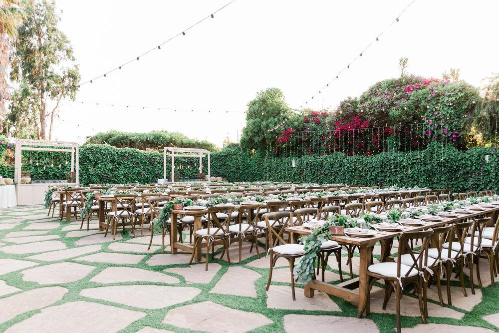 Santa Barbara Rincon Beach Club Garden reception