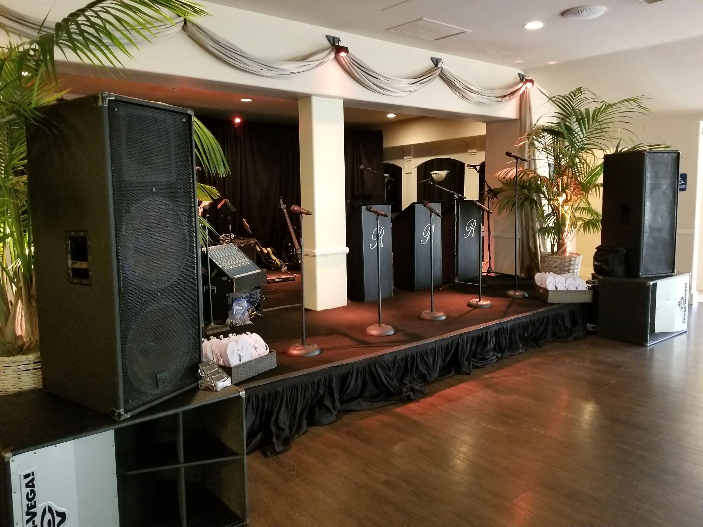 Rincon Beach Club indoor stage