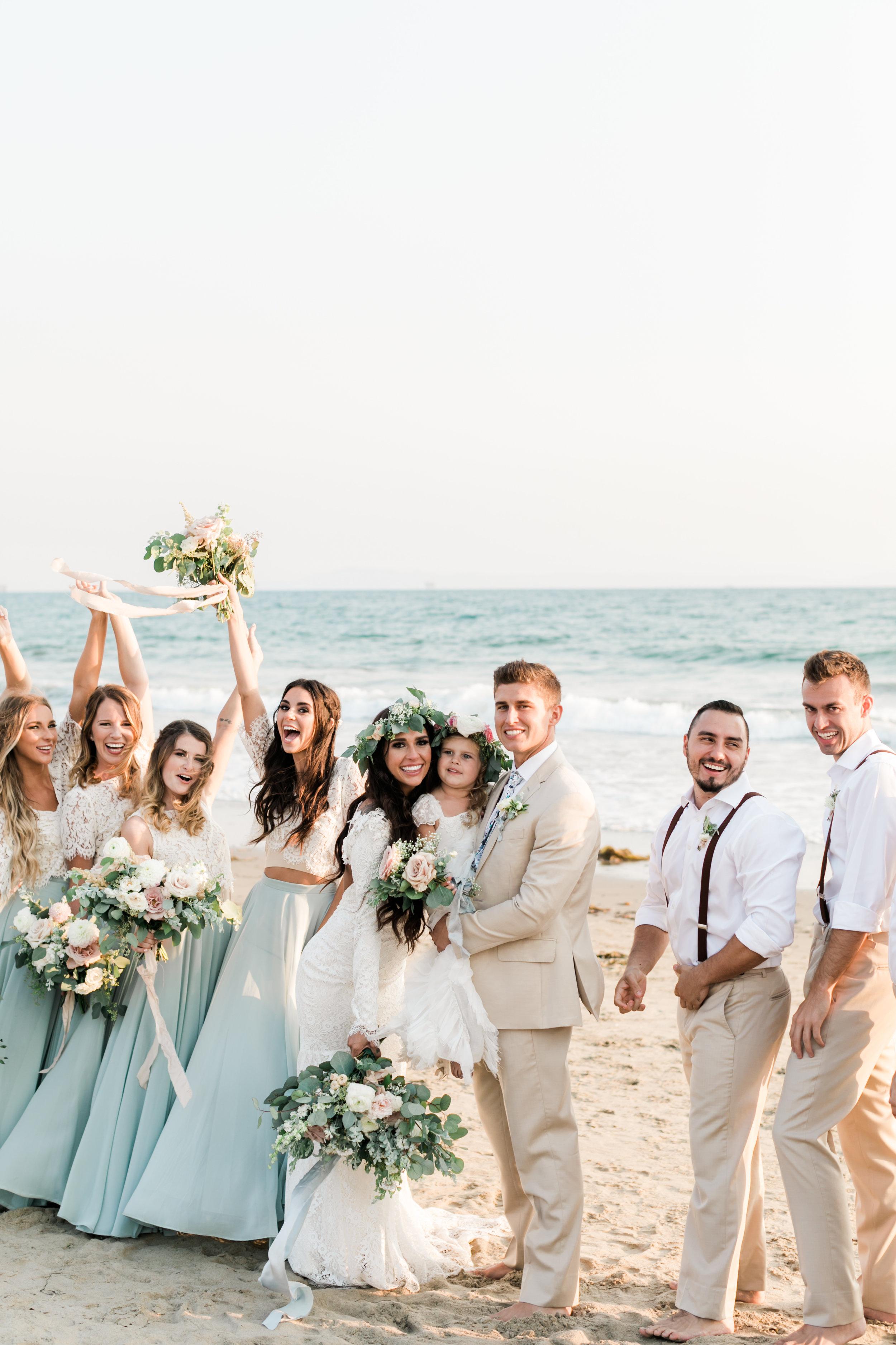 Taylor & Ricky beach wedding