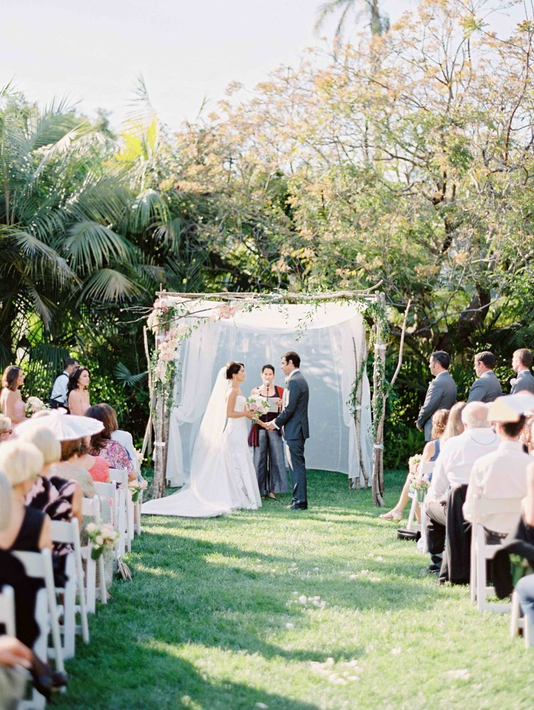Birch Wood Ceremony Chuppah - Four Seasons Biltmore