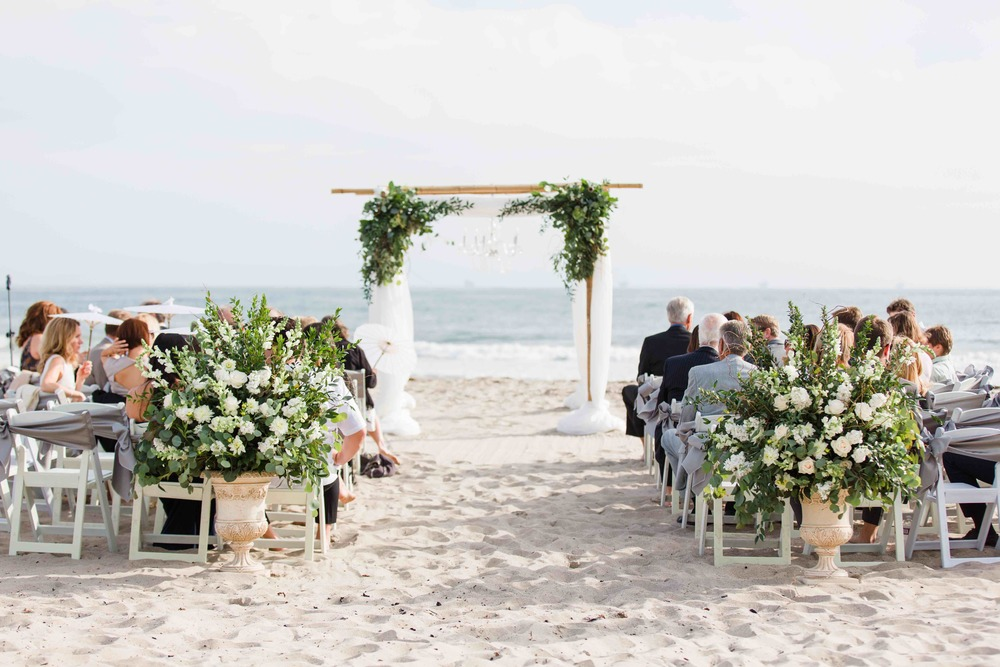 Rincon Beach Club Beach Ceremony - Bamboo Arch