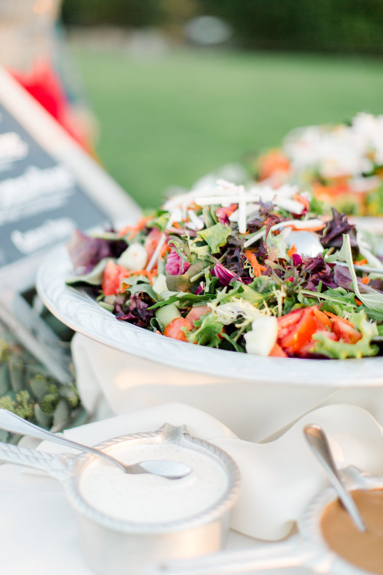 Organic Field Green Salad with Market Vegetables