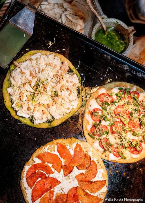 Handmade Thin Crust Pizza