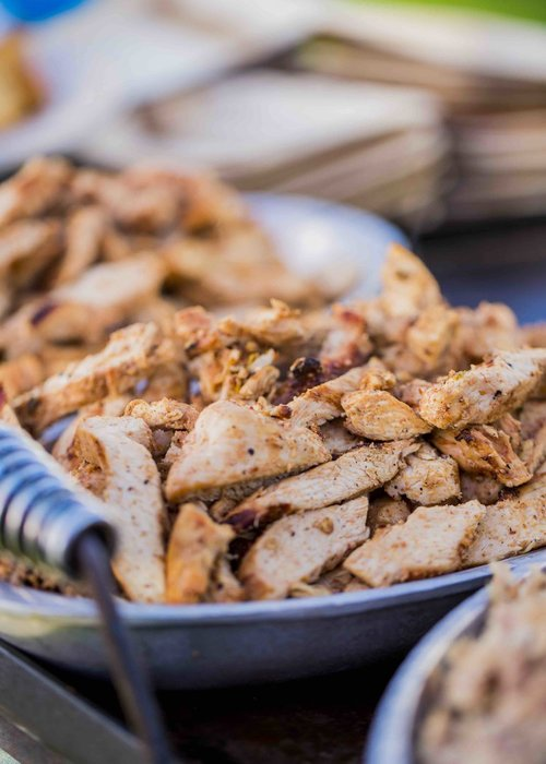 Grilled Chicken in Ancho Tequila Marinade