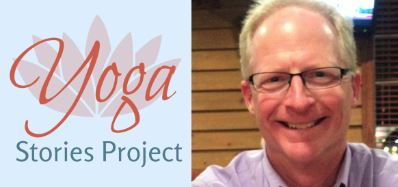 Yoga Stories Project podcast & Mike image