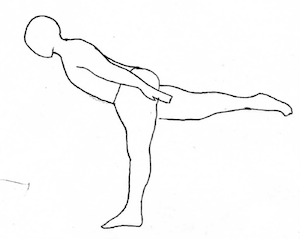 Airplane Pose - Yoga for Recovery features an illustration for every pose offered.