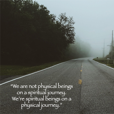 This is James' favorite quote, connecting his ideas about searching for a light within and using experiences to enlighten that journey.