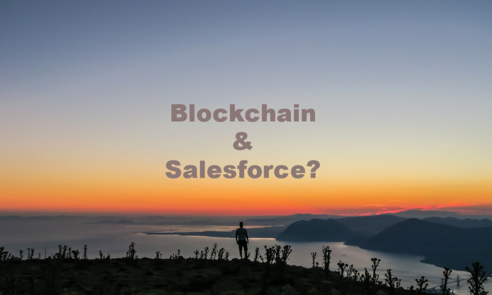 Salesforce Enterprise Etherum Blockchain Distributed ledgers