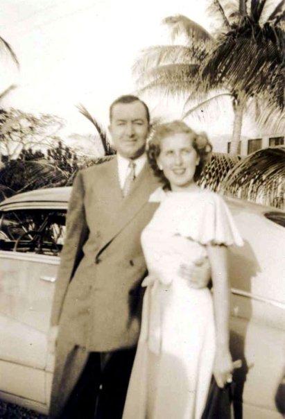 Edith Florence Matthewswith fiance Raymond E. Darling, Jr. First Lieutenant glider pilot killed in NormanyJune 6, 1944 (Operation Neptune)