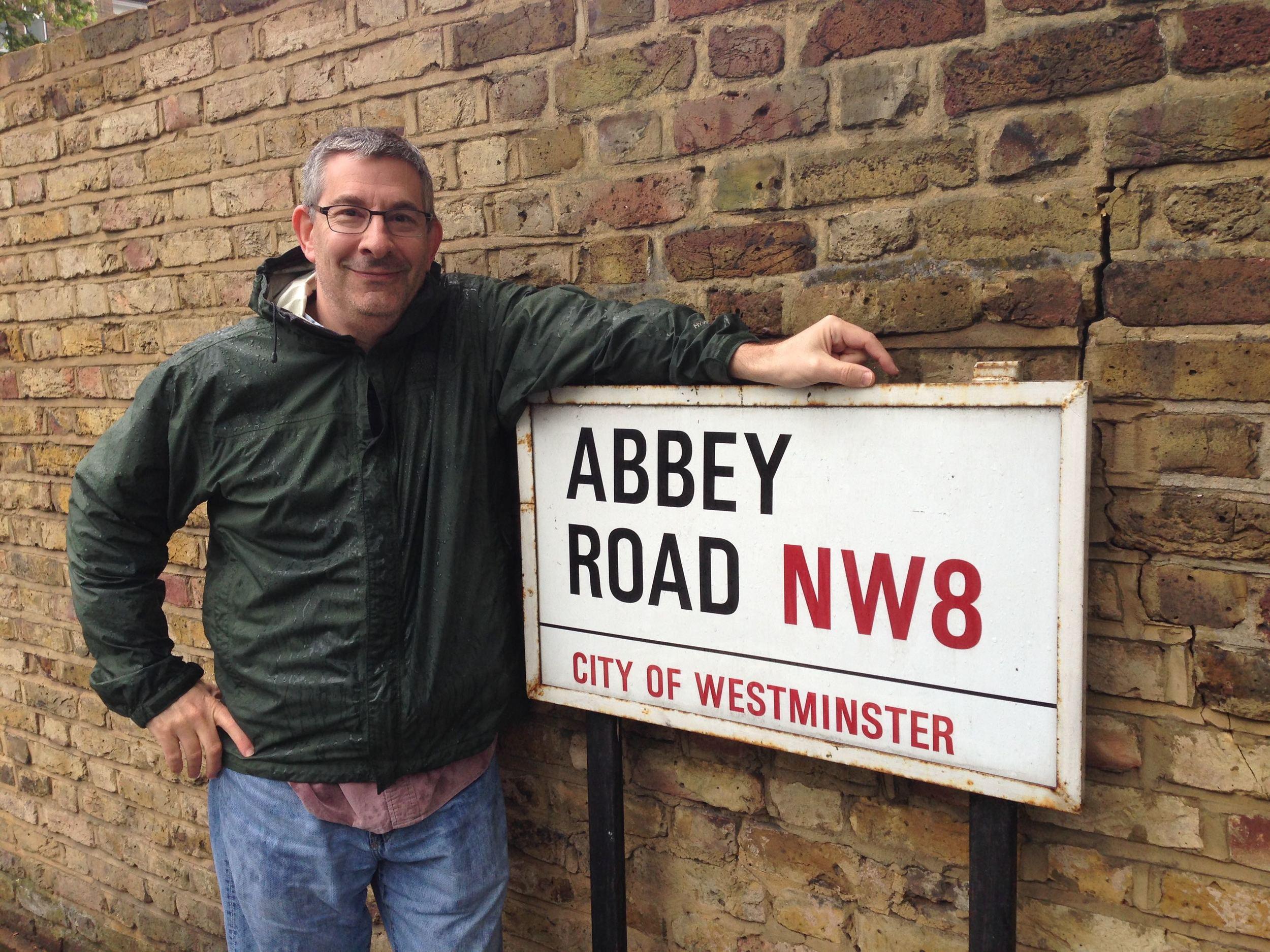 Scott at Abbey Road