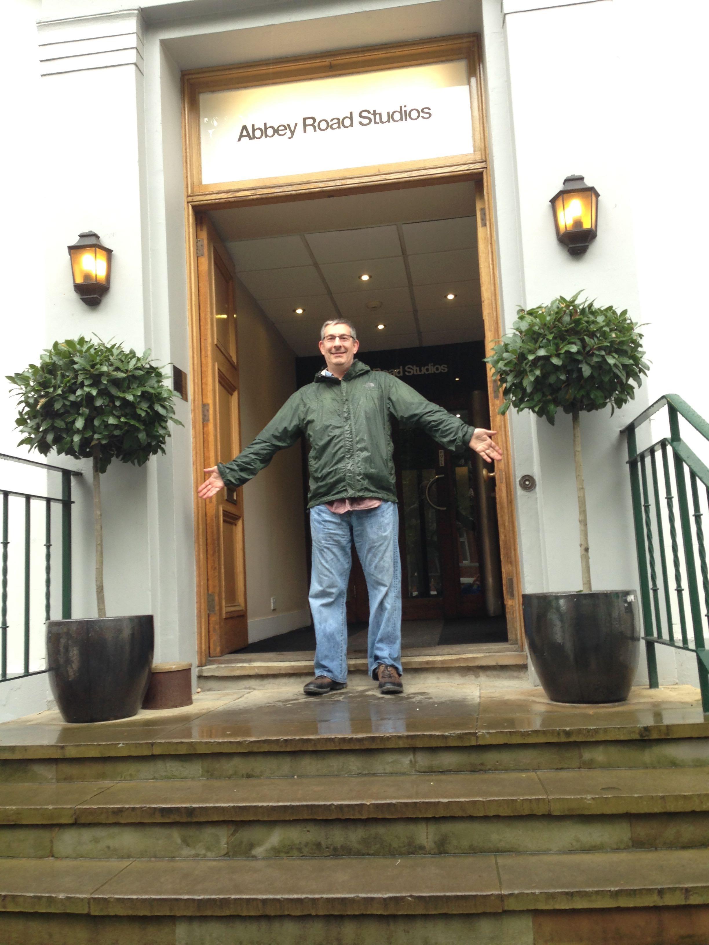 Scott at Abbey Road Studios