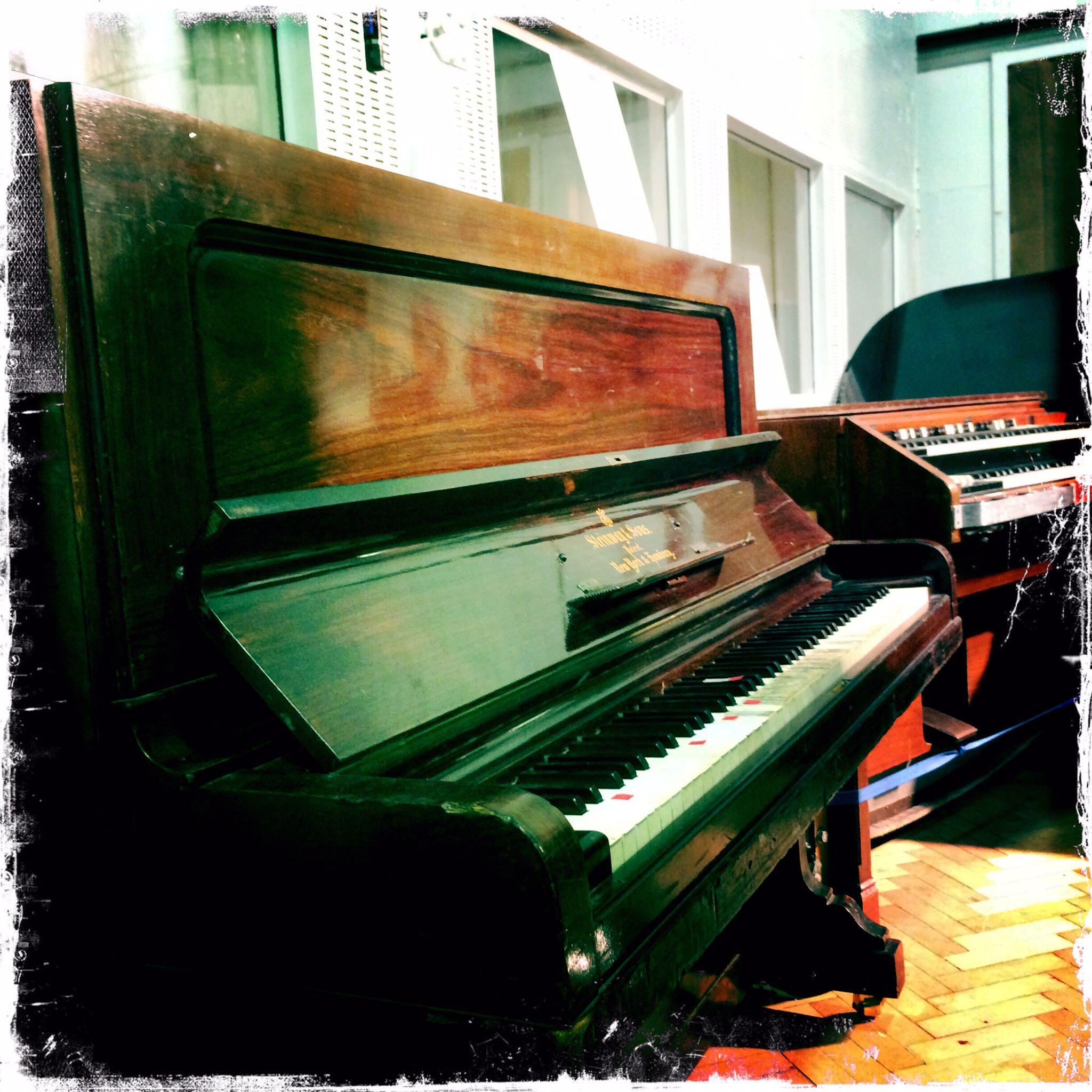 Beatles Keyboards at Abbey Road